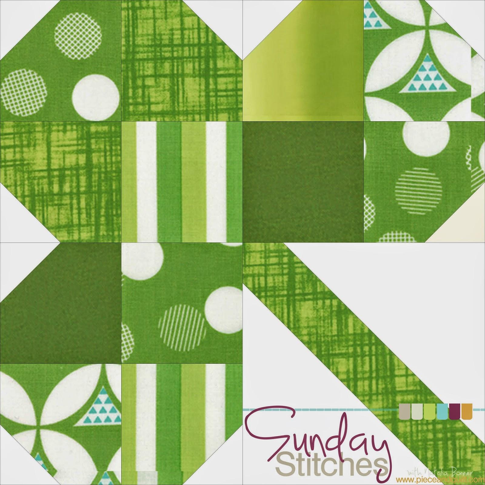 Piece N Quilt: How to: Clover Quilt Block Tutorial - Sunday Stitches : clover quilting - Adamdwight.com