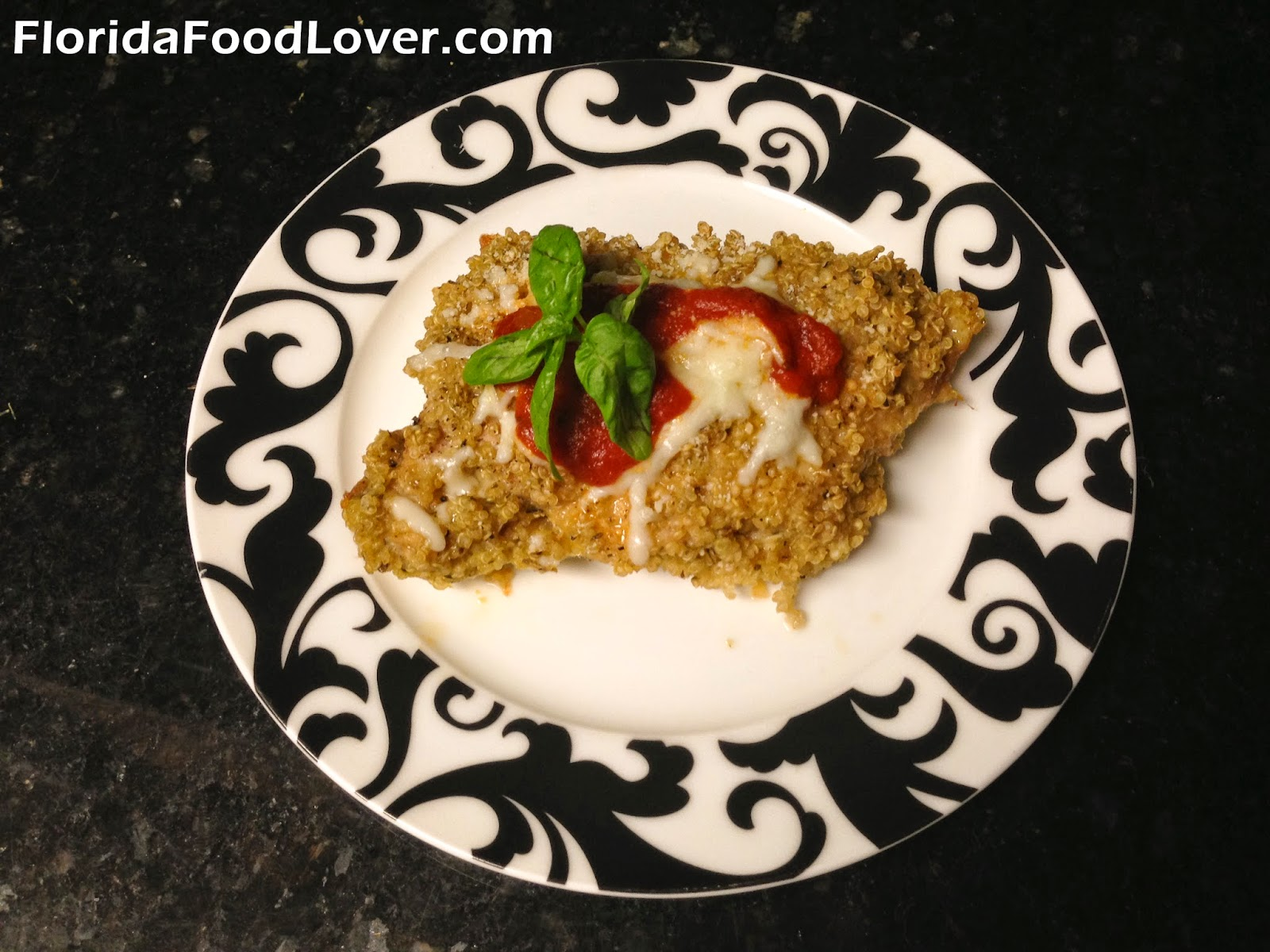 Florida food lover quinoa chicken parmesan quinoa chicken parmesan forumfinder Choice Image