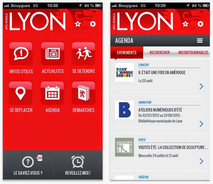 L application mobile de lyon visiter lyon d couverte de la ville des lumi - Dechetterie mobile lyon ...