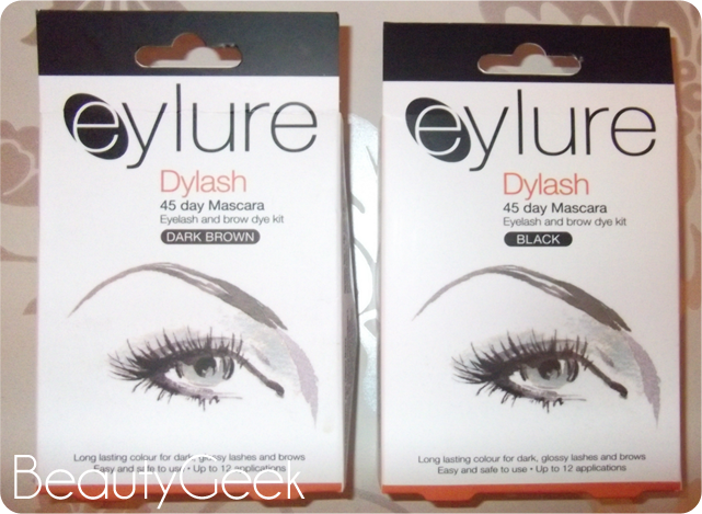 xBeautyGeekx...*: Review: Eylure Dylash - Home Eyebrow Tinting...