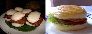 Jadah Tempe vs Roti burger