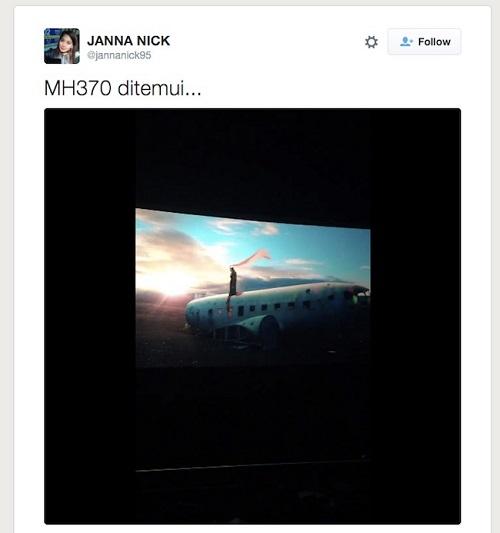 Gurauan MH370 Janna Nick