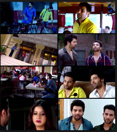 Screen Shot Of What the Jatt 2015 300MB HDRip 480P Full Punjabi Movie Watch Online Free Download
