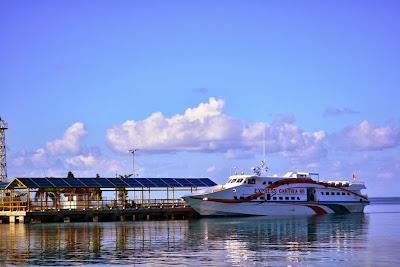 Kapal cepat Karimunjawa