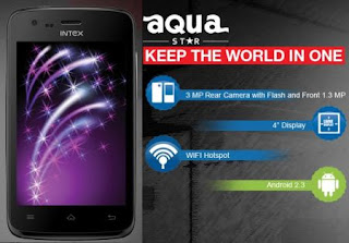 Intex Aqua Star price in India image