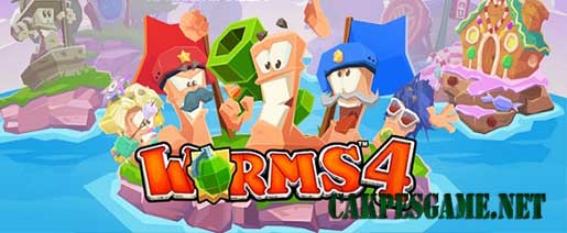 Worms 4 v1.0.419806 Apk Full OBB