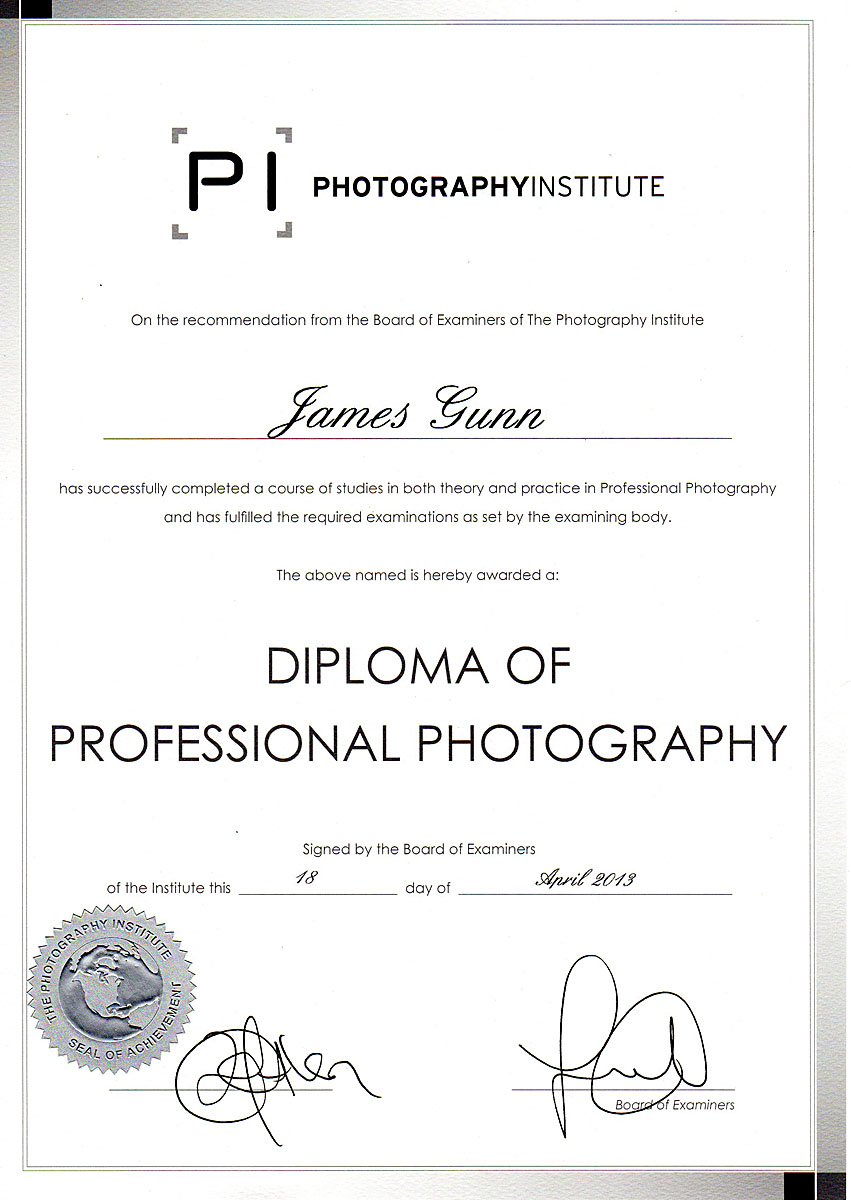 James gunn photography photography qualification success photography qualification success 1betcityfo Gallery