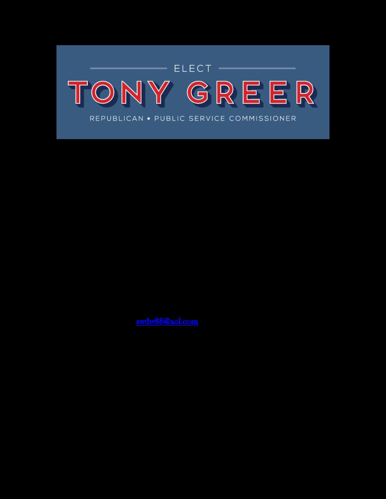 Jackson Jambalaya Meet Greet Psc Candidate Tony Greer
