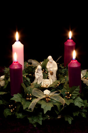 Meaning of the Three Purple Candles and One Pink Candle in an Advent ...