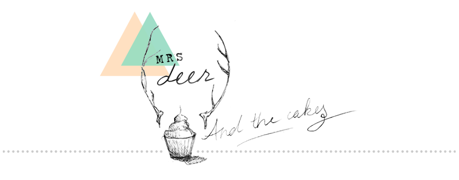 Mrs Deer and the cakes