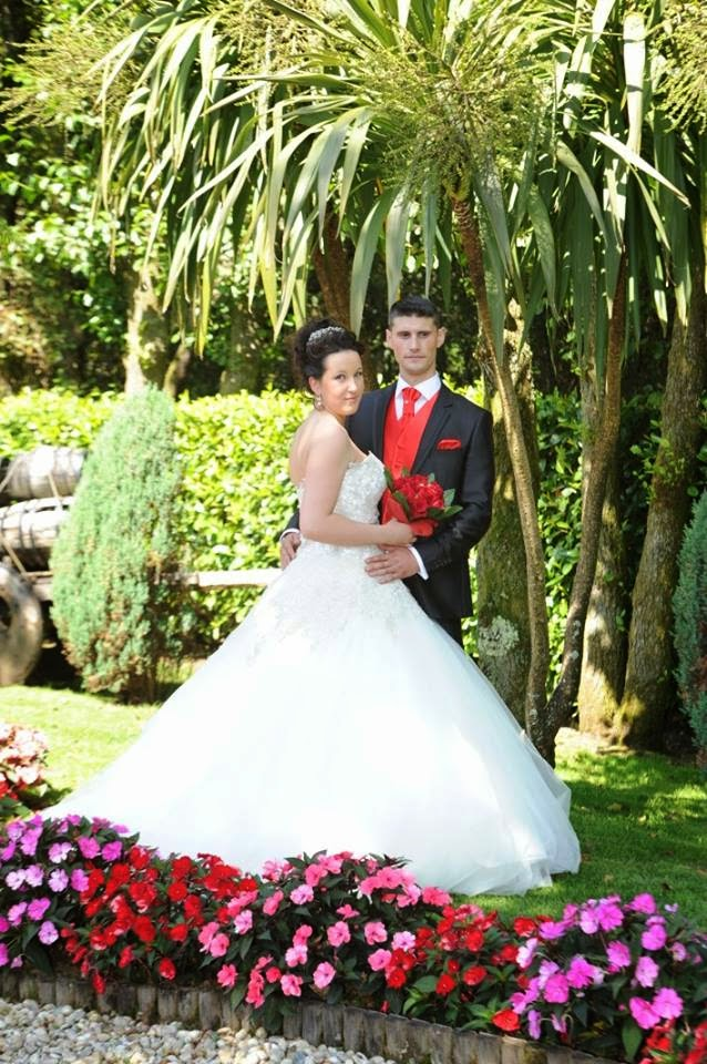 Leticia Negreira y su esposo.