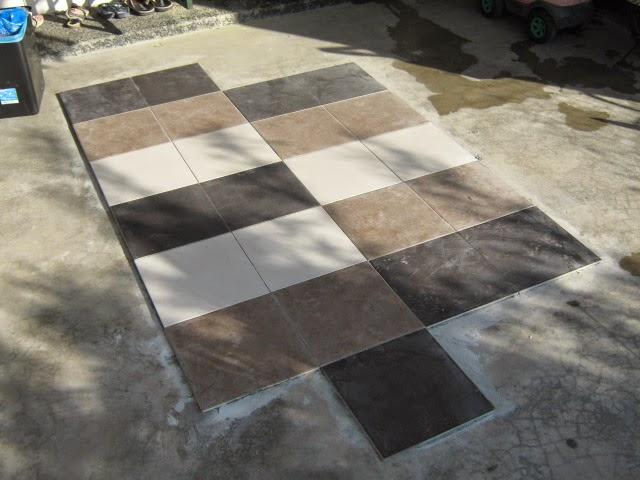 Apa Lagi Mula La Aku Berkarya Untuk Gunakan Corak Tersebut Kat Porch Rumah Nak Pasang Tiles