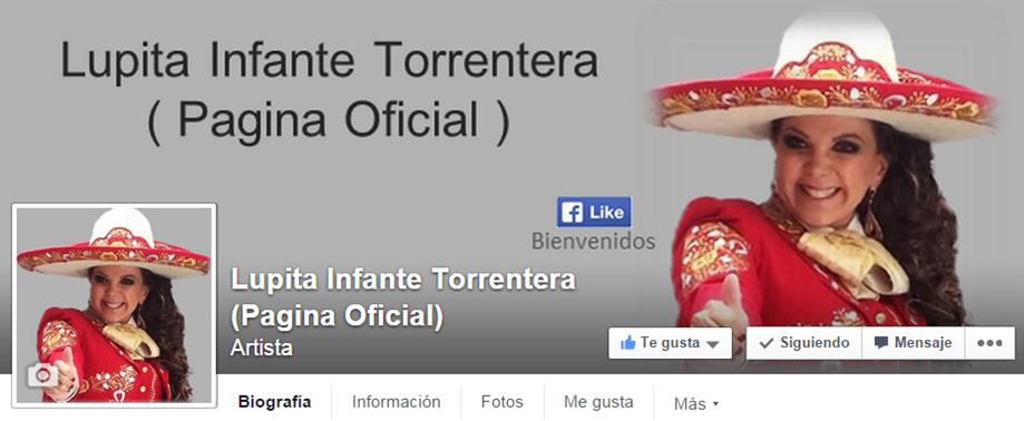 Pagina Oficial en Facebook