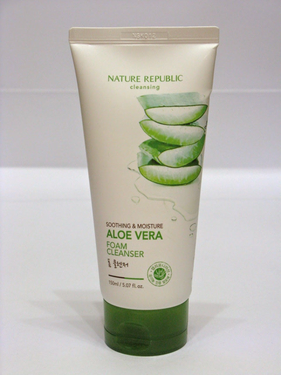 Jual NATURE REPUBLIC Soothing & Moisture Aloe Vera Foam Cleanser 150ml