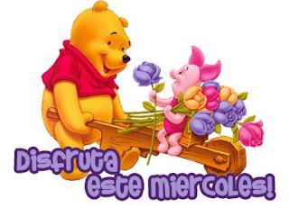 imagenes de feliz miercoles en winnie pooh