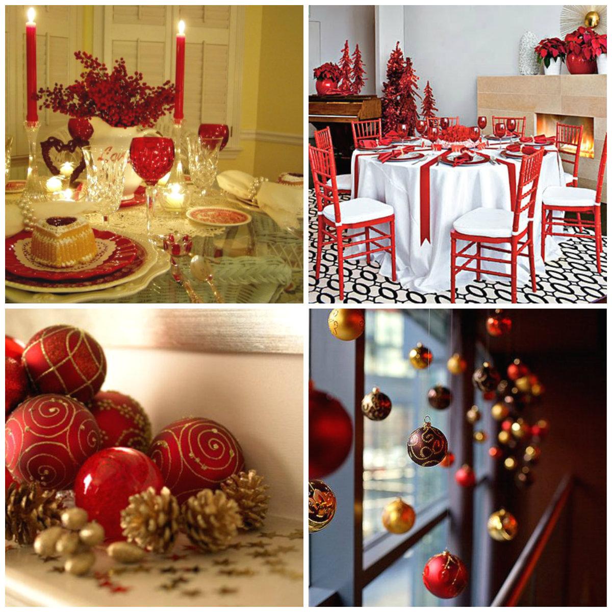 Decoraci n de navidad original y creativa todo con las flores decorar crear degustar - Decoracion de navidad 2015 ...