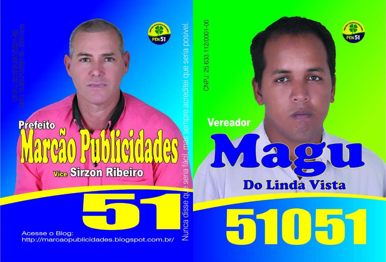 Candidatos a vereadores do PEN