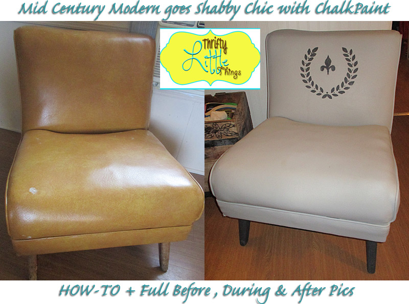 how to paint leather furniture. Like They Say, One Man\u0027s Trash Is Another\u0027s Treasure And I Found This Mid Century Modern Chair On The Side Of Road Last Week With A Pile More \ How To Paint Leather Furniture