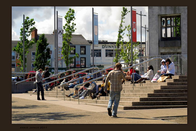 random image from Eyre Square Galway city