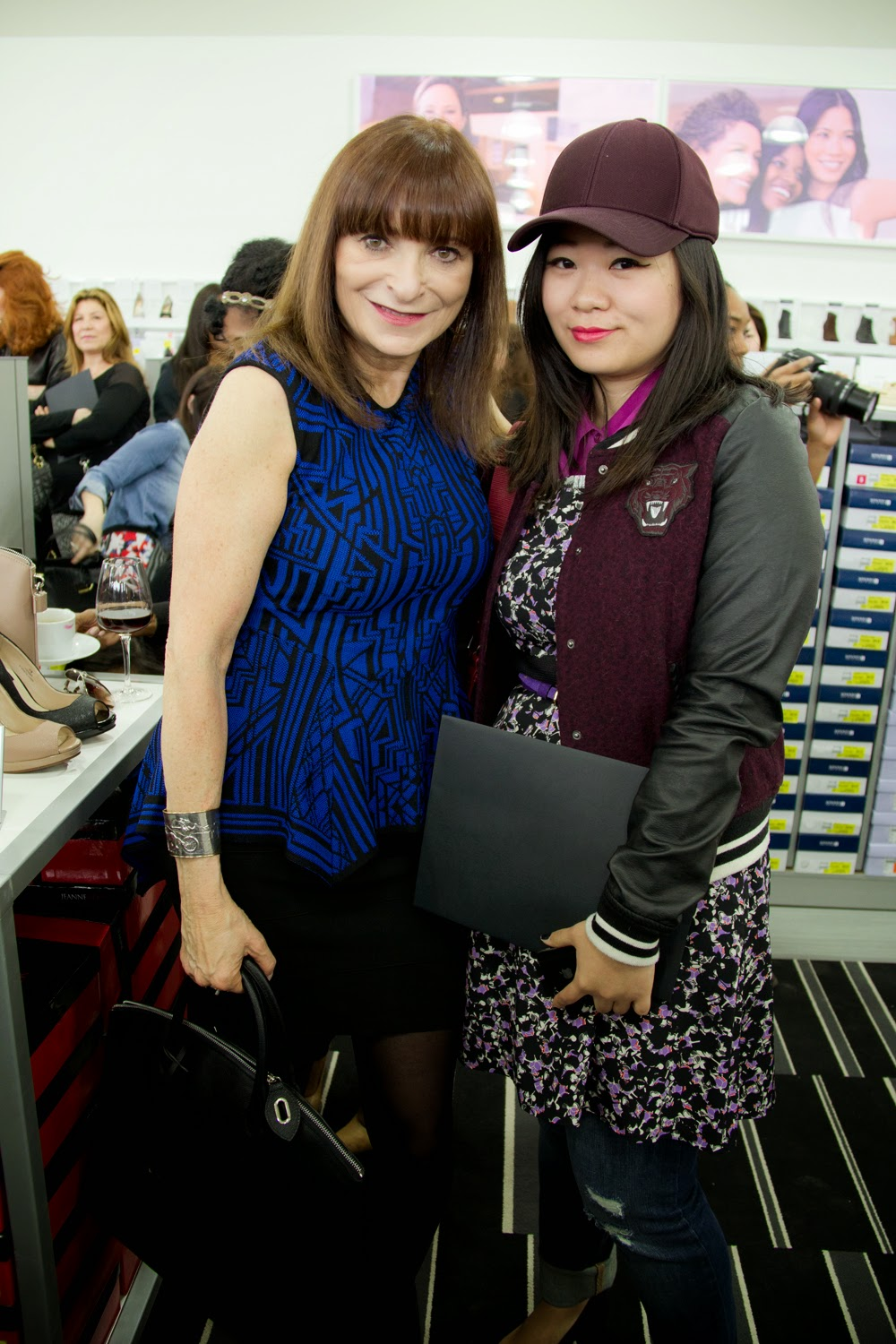 Jeanne-Beker, Fashion-Blogger, Media-Event, Preview