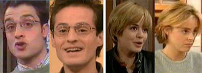 Daniel Guzmán - Borja Elgea, María Adánez - Alicia Bogo, serie de Antena 3