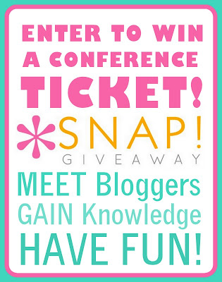 SNAP 2013 Giveaway!