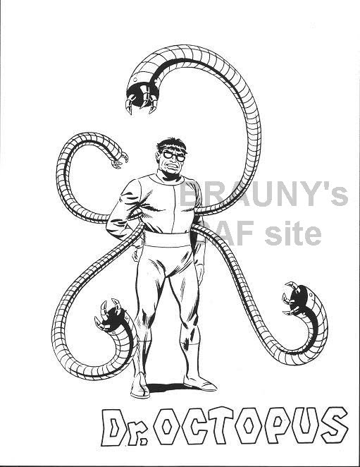 Lego Doctor Octopus Coloring Pages Coloring Pages Doctor Octopus Coloring Pages