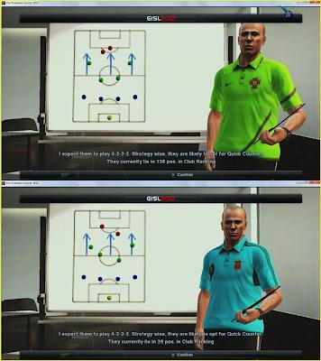 Download Baju Pelatih Internasional PES 2013