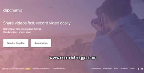 Graba y comprime videos online con Clipchamp