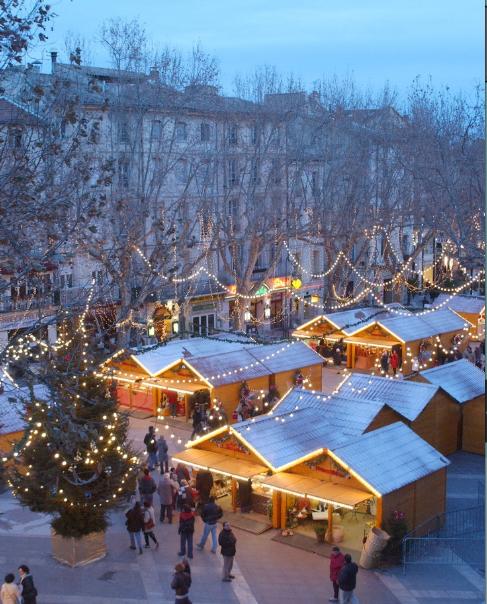 Avignon en Navidad