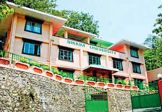 temporary office of the Sikkim University in Gangtok
