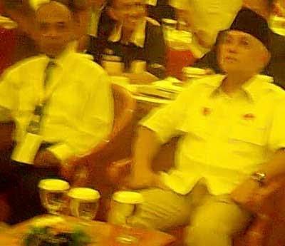 Hatta Rajasa & Drs Haris S.- Sekjen DPP LPM