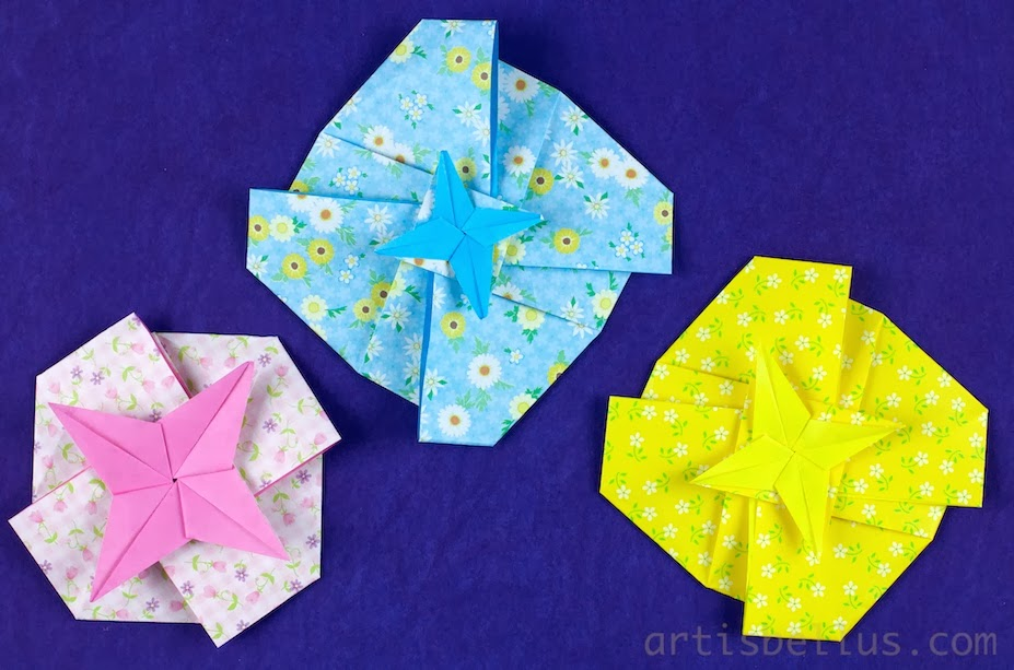 Valentine's Day Origami: Star Tatos