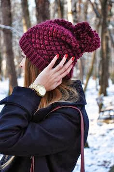 Burgundy Beanie, Street Style, Fashion Trends, Fall Trends 2013