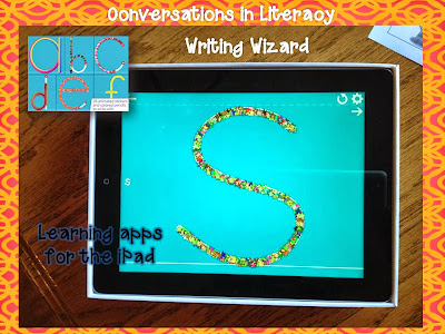 learning apps for ipads- writing wizard app