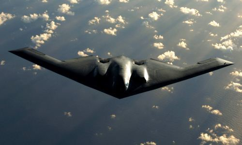 Pembom siluman AS B-2 Spirit