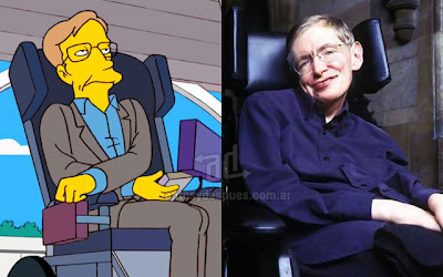 Stephen Hawkings simpsons artis+kartun Tokoh tokoh selebriti dalam serial kartun The Simpson