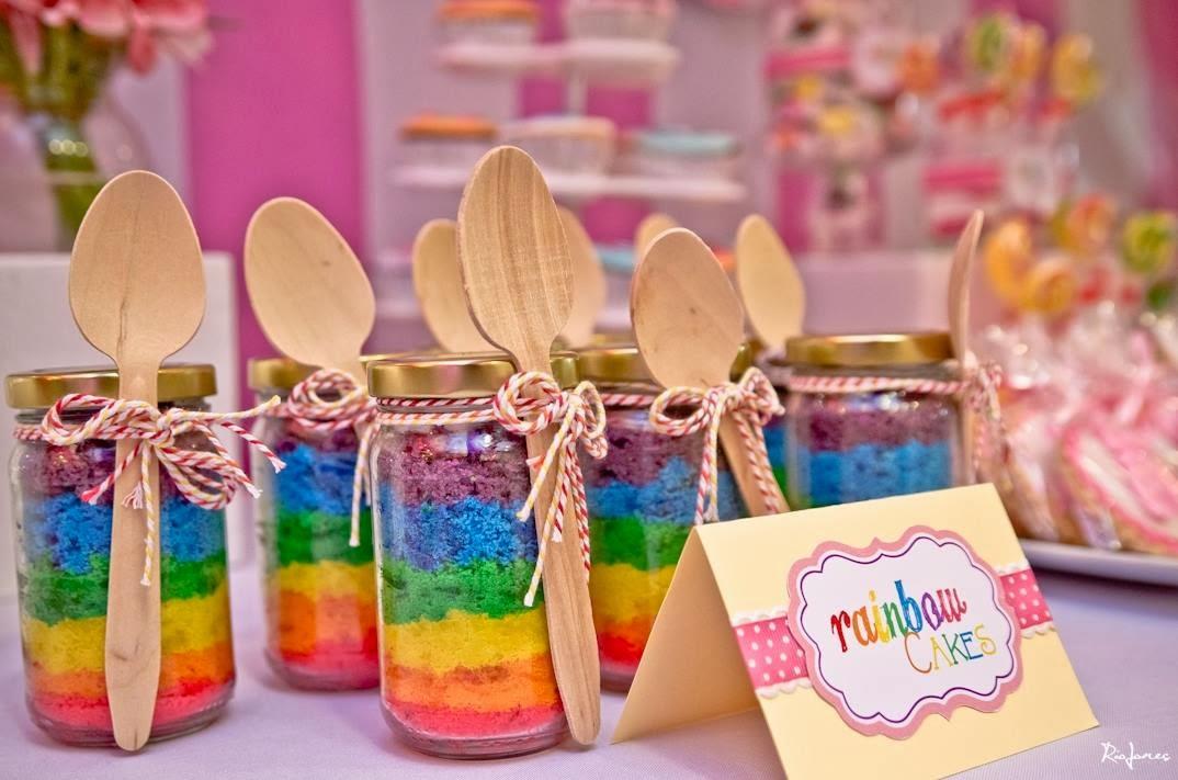 Hello: Event: Rainbow Cake in a Jar