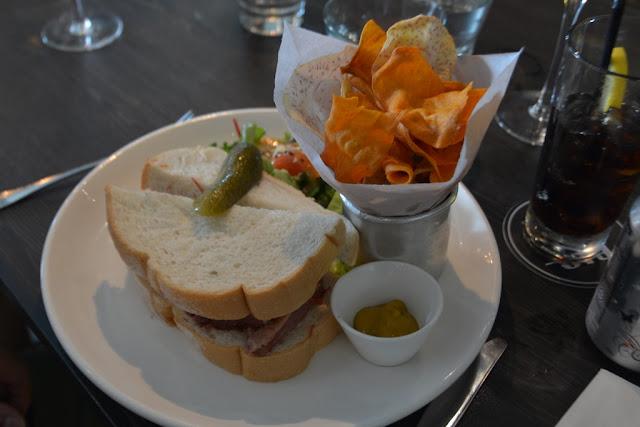 Bens Cafe KLCC sandwich