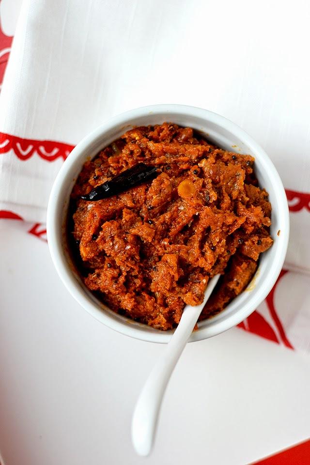 Kakarakaya Pachadi (Bittergourd Chutney)