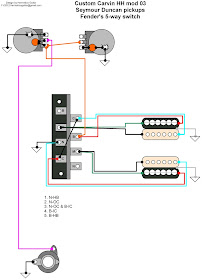 Hermetico Guitar: Wiring Diagram: Custom Carvin mods 02 and 03Hermetico Guitar - blogger