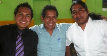 Juan Carlos Valverde, Melzi Hipolito Rojas y Carlos Godoy