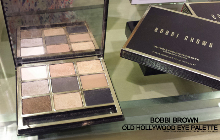 Bobbi Brown Old Hollywood Eyeshadow Palette - Holiday 2013 Makeup Collection - Photos swatches