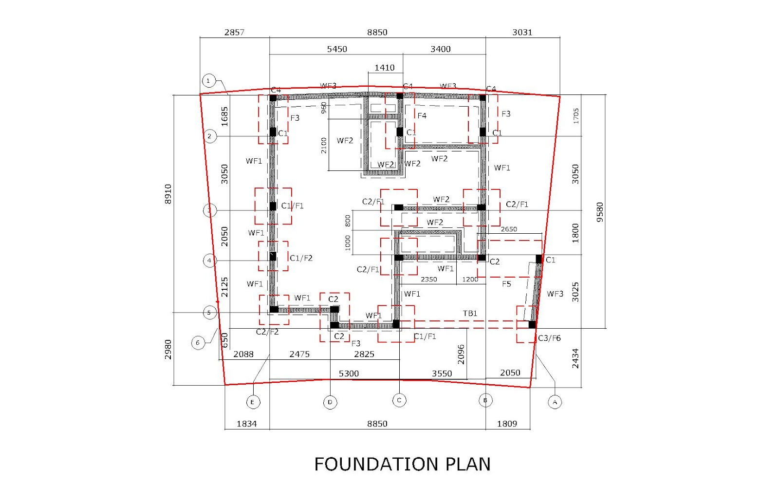 House Foundatio Plan In The Philippines Joy Studio