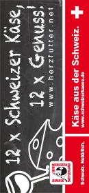 Schweizer Käse Banner Hochformat