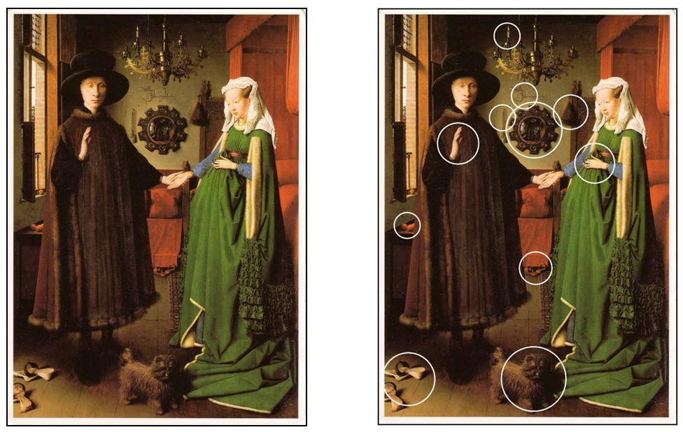 arnolfini wedding portrai Jan van eyck (1390/95-1441) was born in the town of maaseik in the province of limburg, located along the border of modern day.