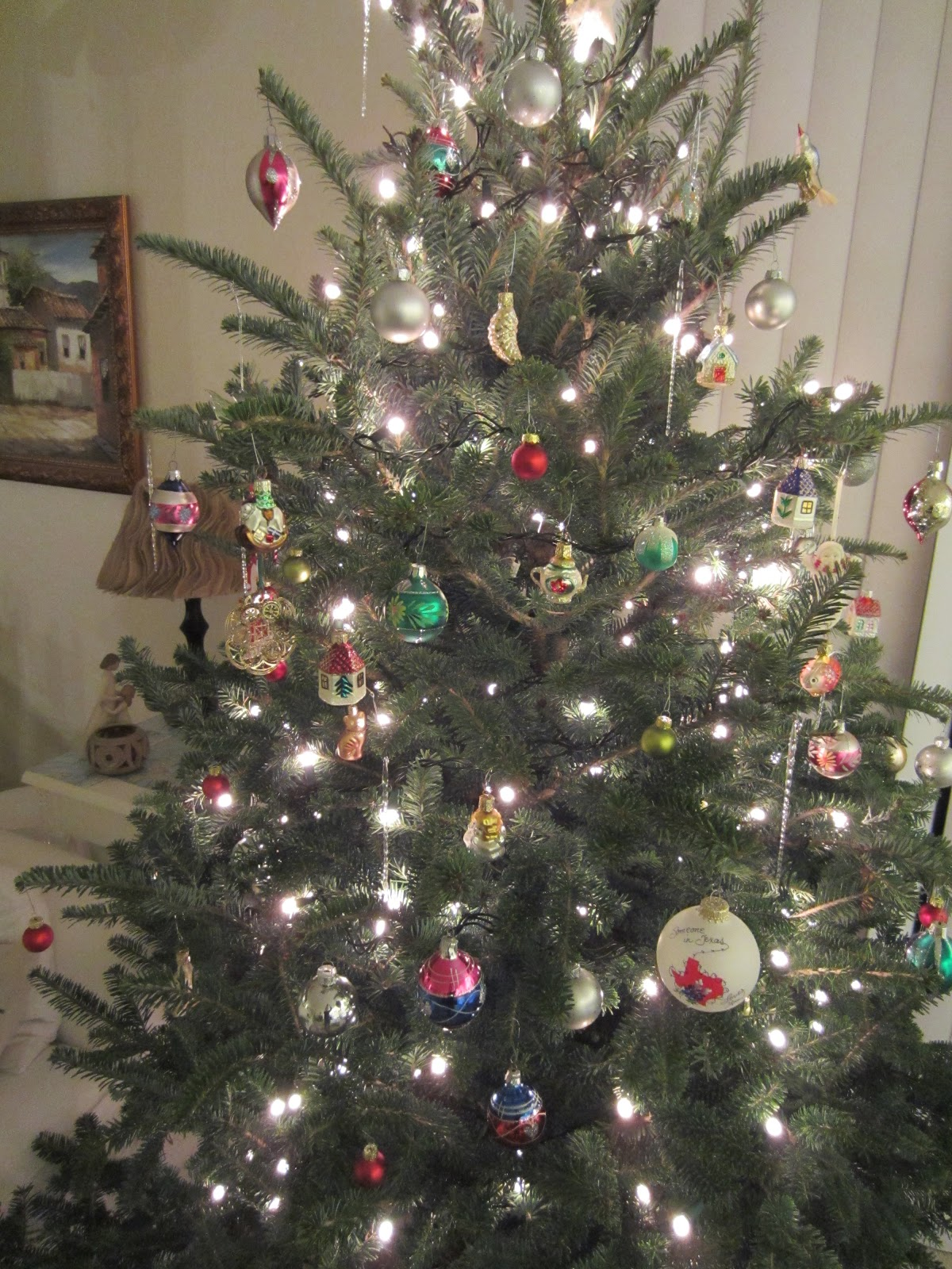 I Think It S About Time To Show You Our Comically Uneven Christmas Tree No Don T Mean That Tipping Over Or Anything Like
