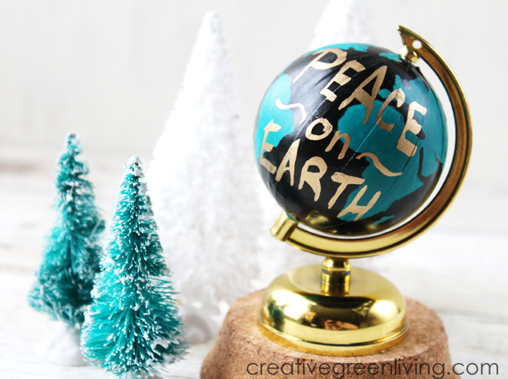Anthropologie Wanderlust Globe Inspired Christmas Ornament