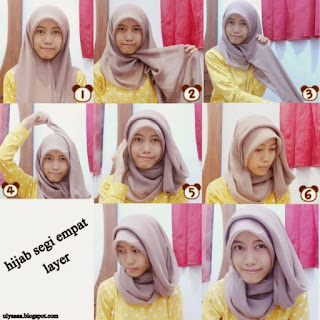 hijab untuk wajah bulatpipi tembem
