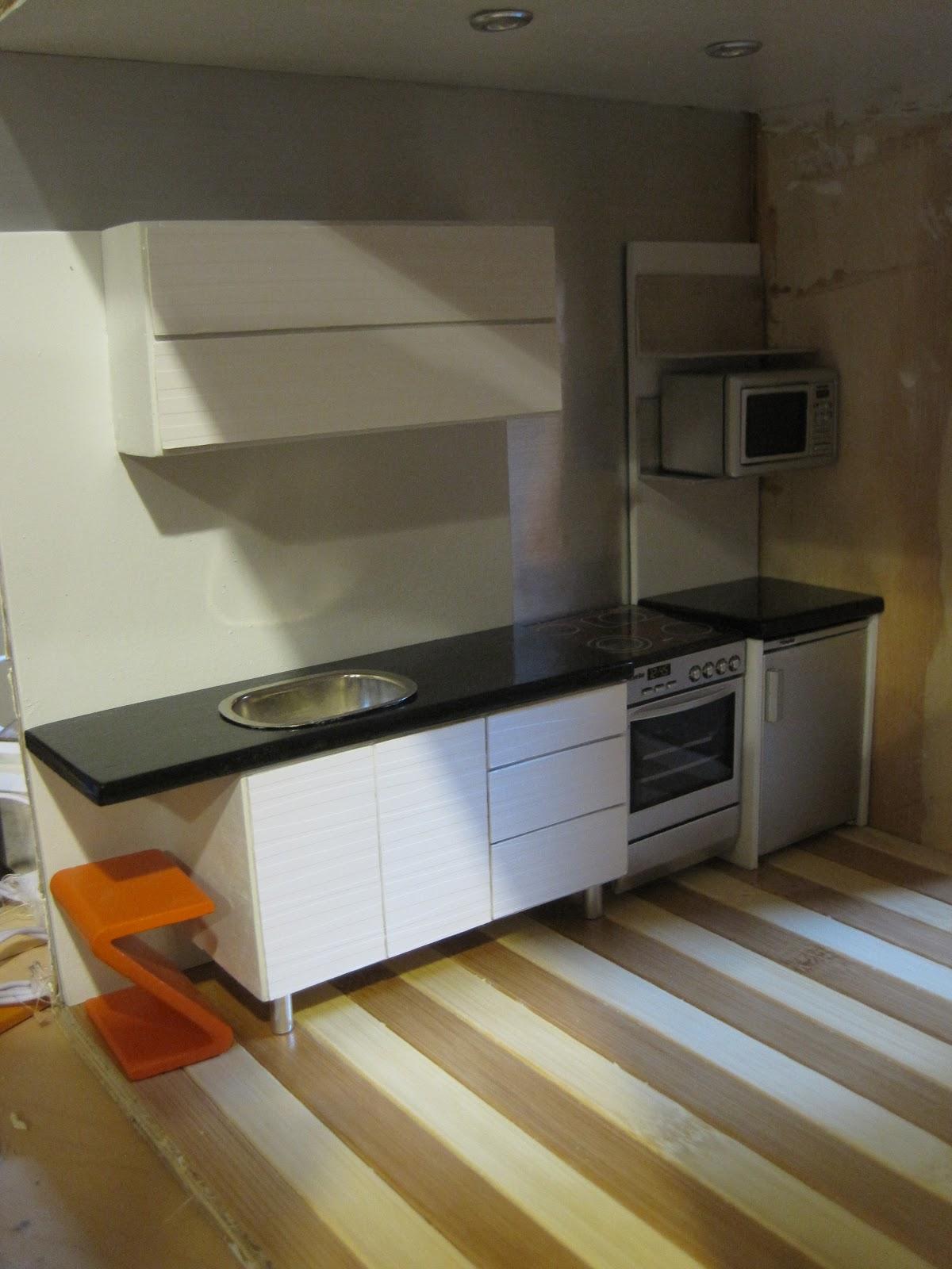 Mini Mod Pod Efficiency Kitchen